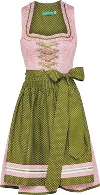 COUNTRY LINE Dirndl in Midilänge