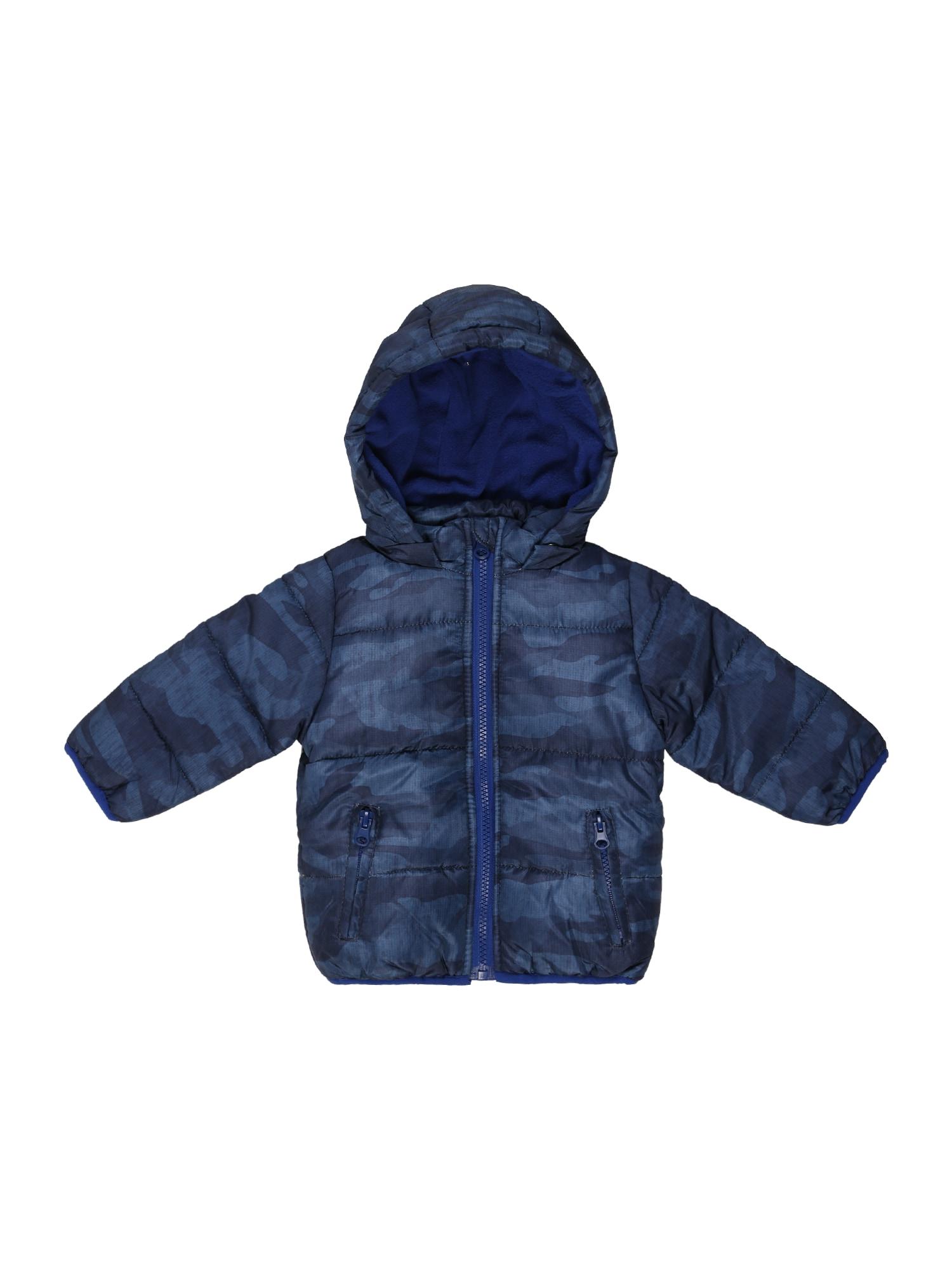 BLUE SEVEN Žieminė striukė tamsiai (džinso) mėlyna / tamsiai mėlyna