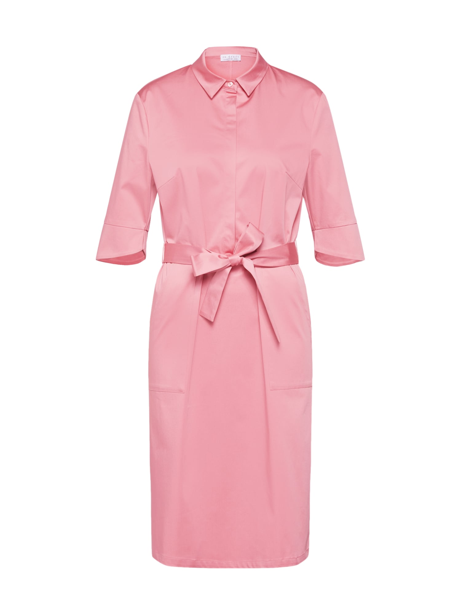 Košilové šaty Blousedress pink Re.draft