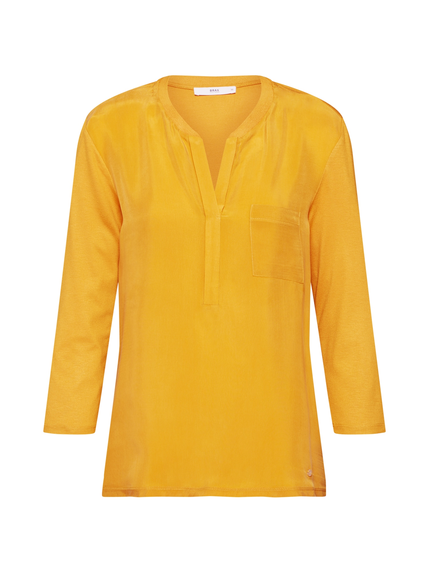 BRAX Marškinėliai 'Clarissa' garstyčių spalva
