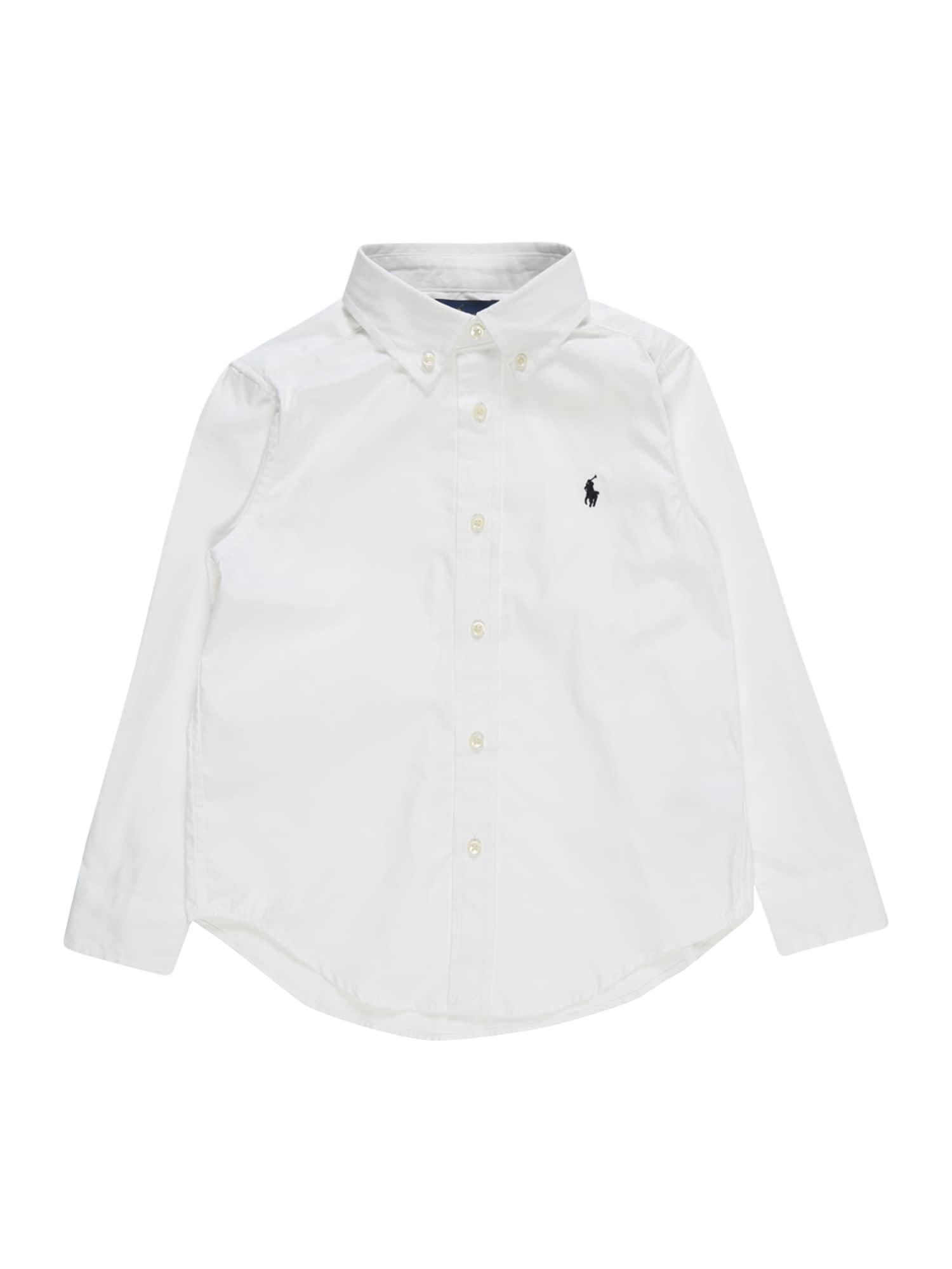 POLO RALPH LAUREN Dalykiniai marškiniai balta