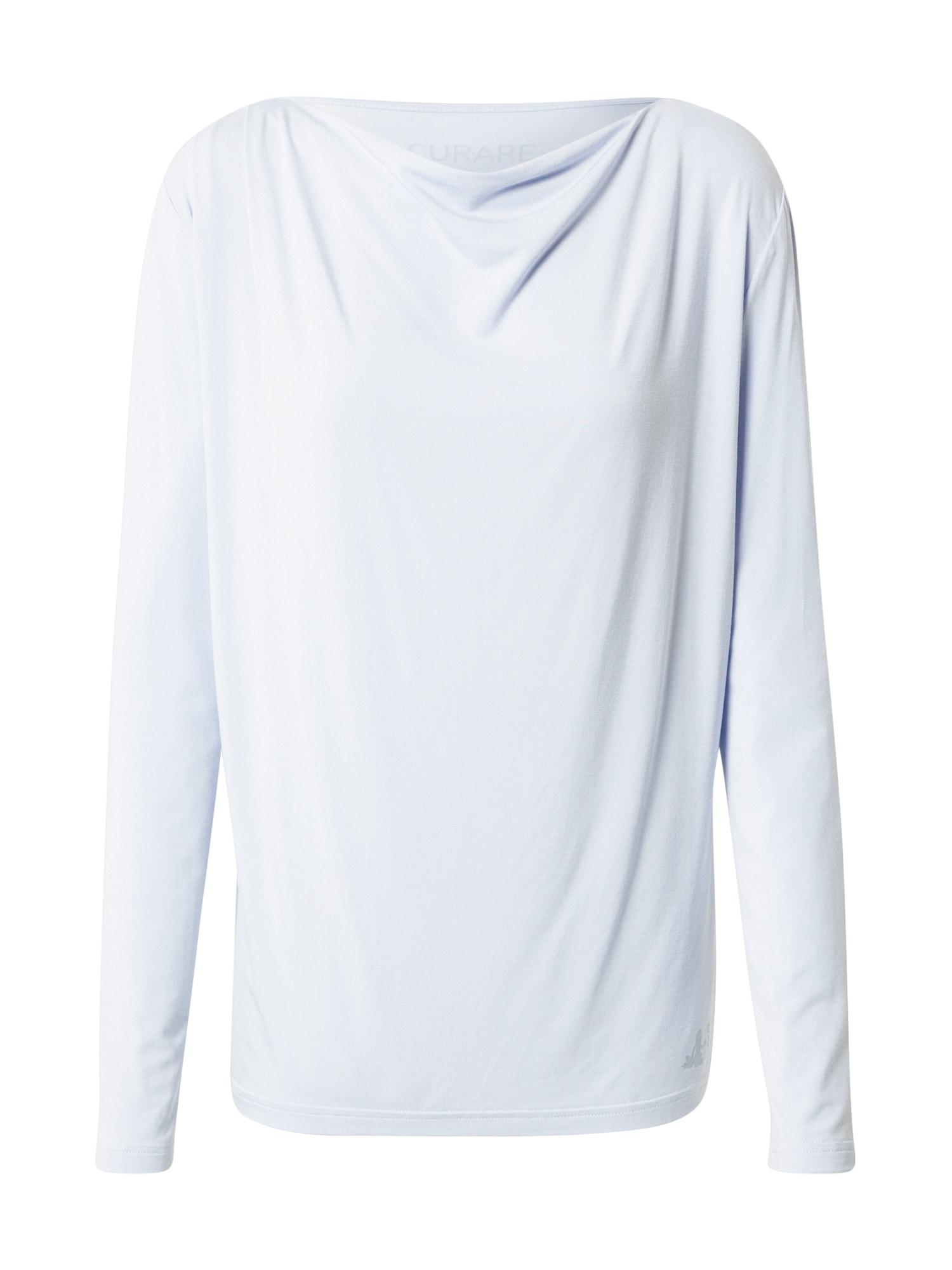 CURARE Yogawear Sportiniai marškinėliai šviesiai mėlyna