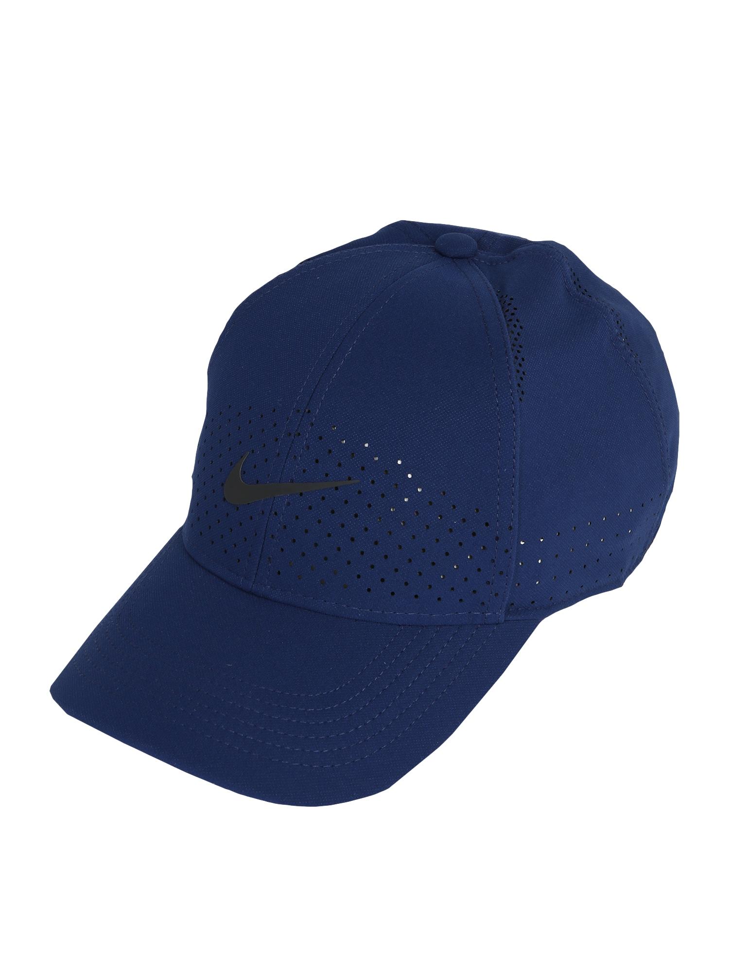 NIKE Sportinė kepurė 'Aero Legacy' tamsiai mėlyna