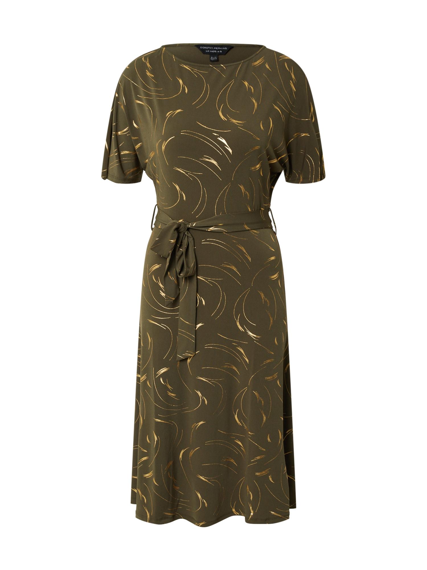 Dorothy Perkins Suknelė rusvai žalia