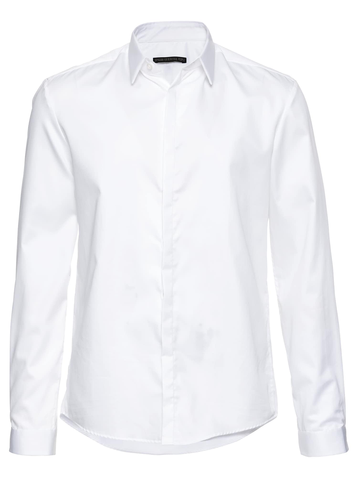 Společenská košile JONATHAN 304208 bílá DRYKORN