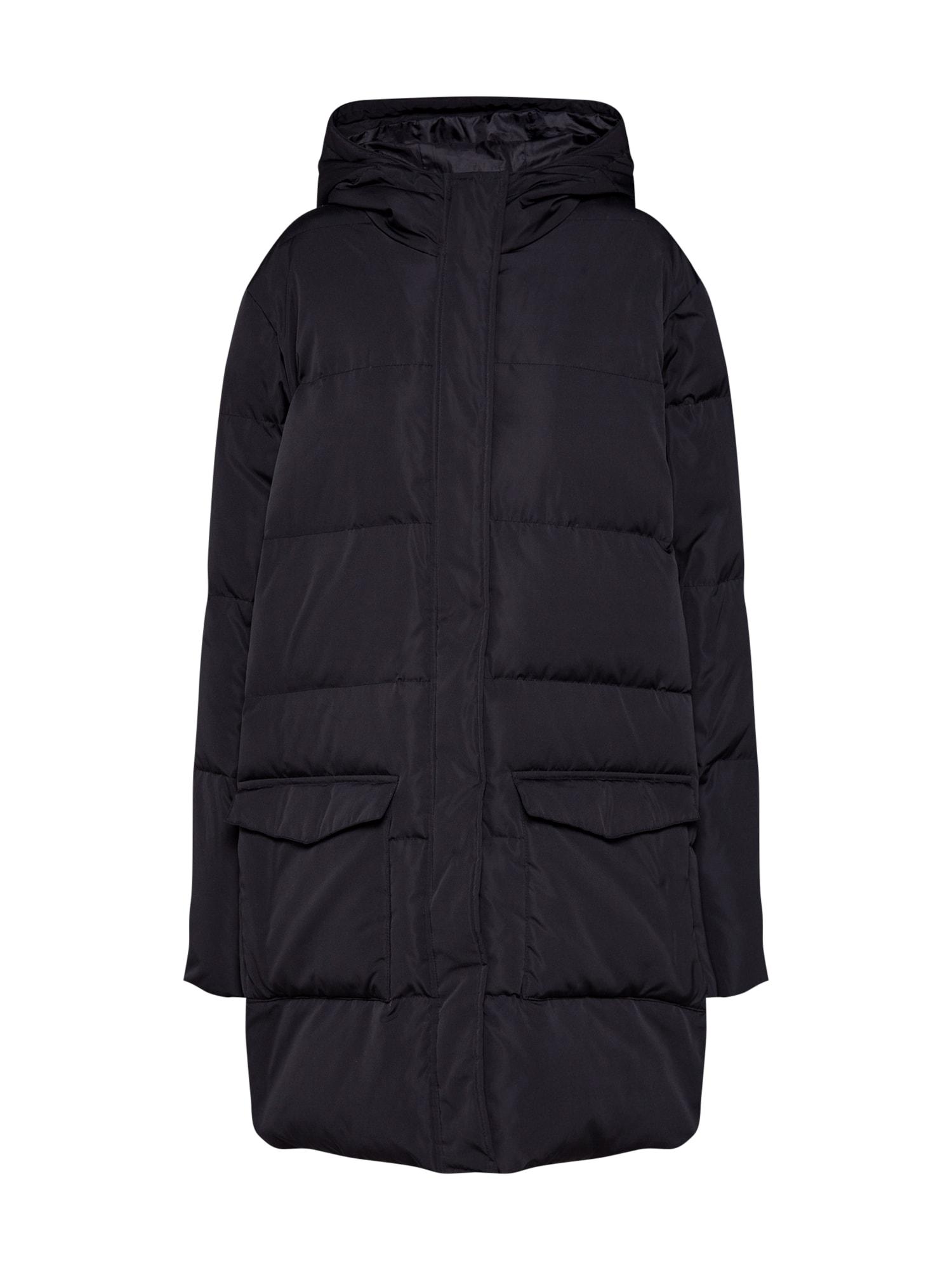 mbym Žieminis paltas 'Idina' juoda