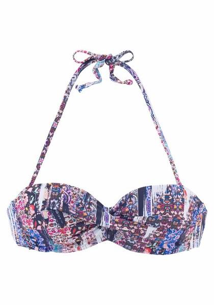 Bademode - Bügel Bandeau Top 'Gipsy' › Sunseeker › blau navy dunkelblau pink rosa weiß  - Onlineshop ABOUT YOU