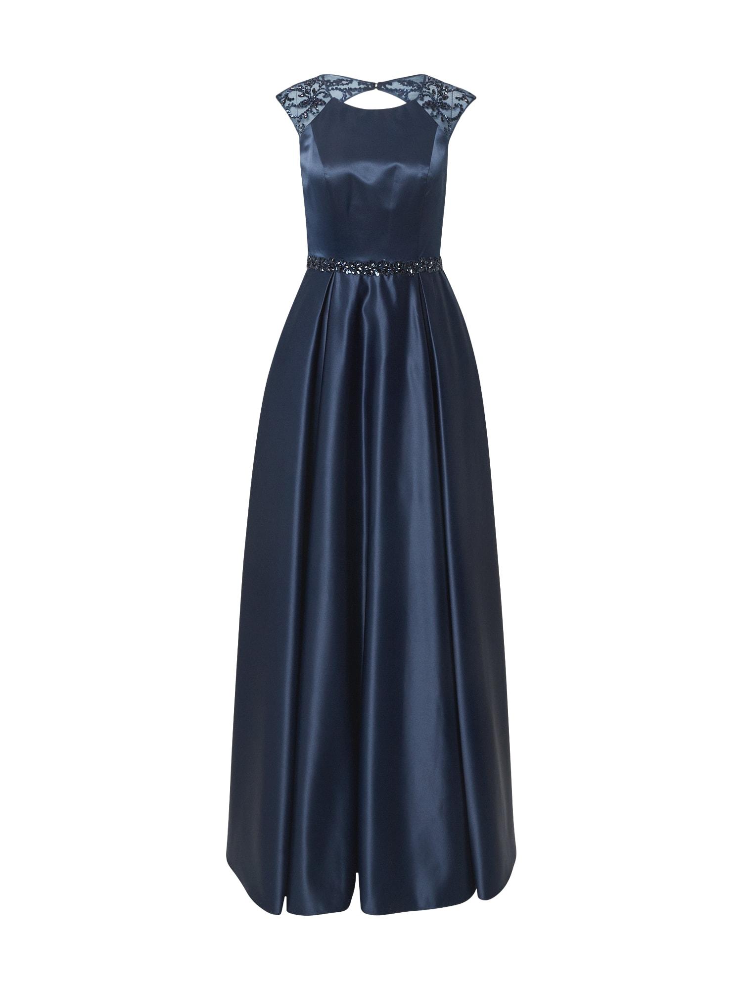 Unique Vakarinė suknelė tamsiai mėlyna jūros spalva