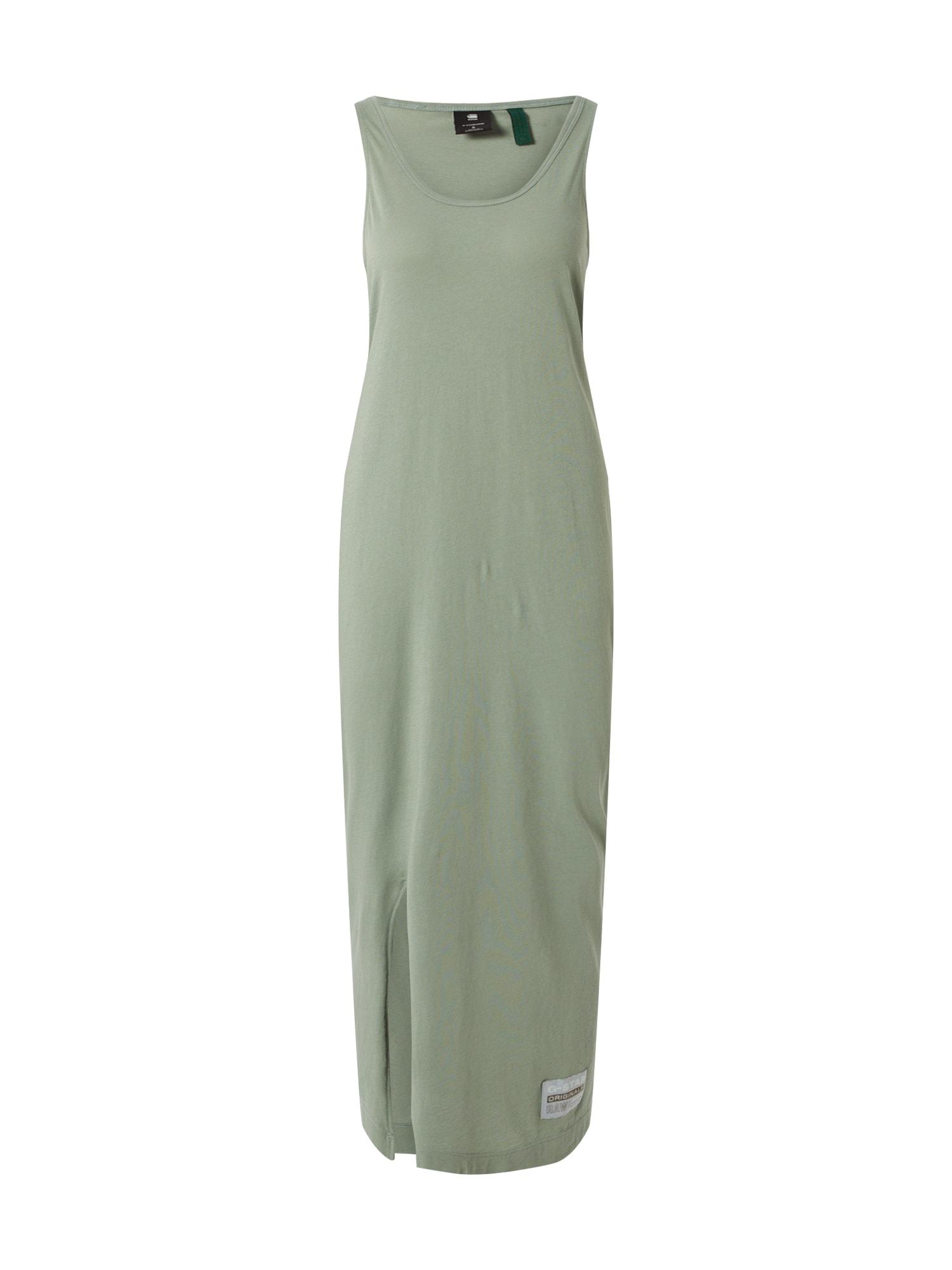 G-Star RAW Letné šaty 'Lyker'  svetlozelená