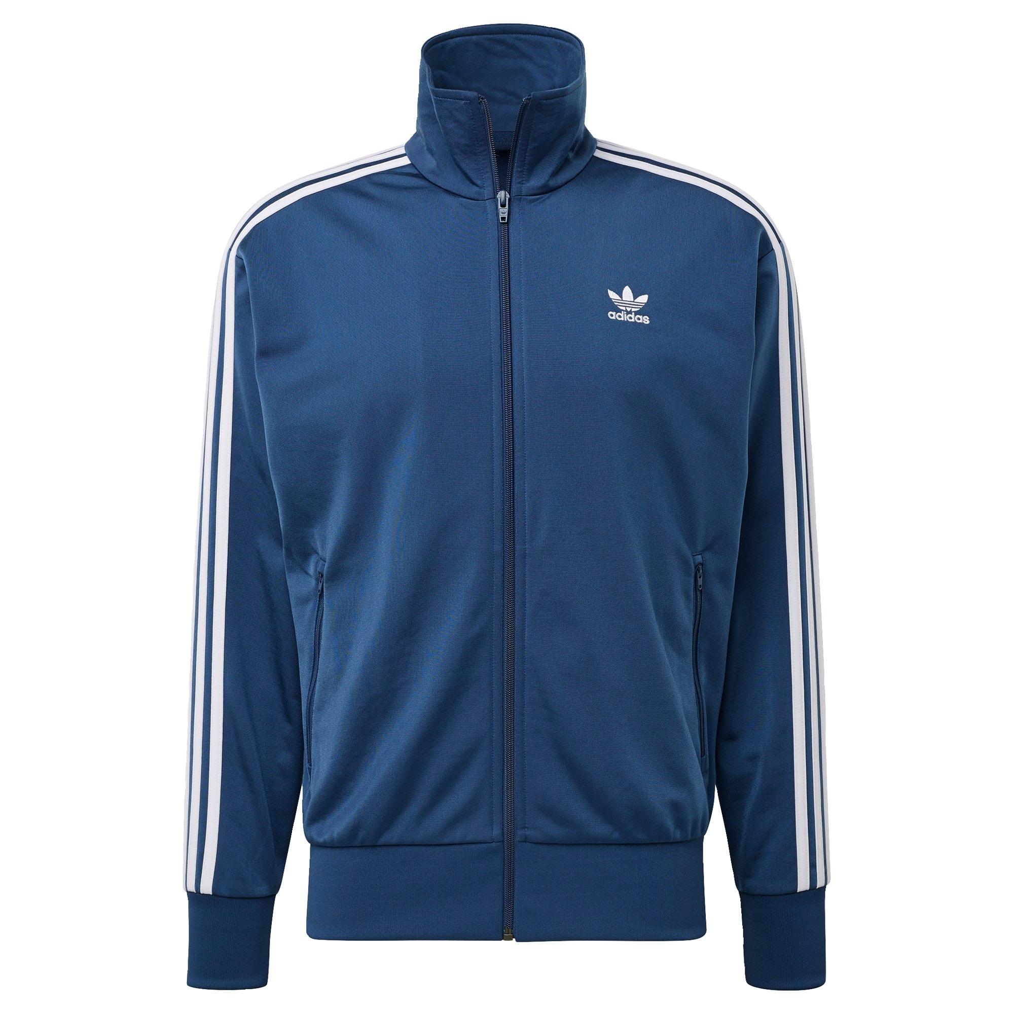 ADIDAS ORIGINALS Džemperis tamsiai mėlyna / balta