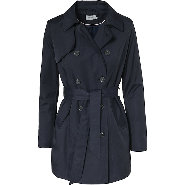 Jacken für Frauen - ONLY Trenchcoat navy  - Onlineshop ABOUT YOU