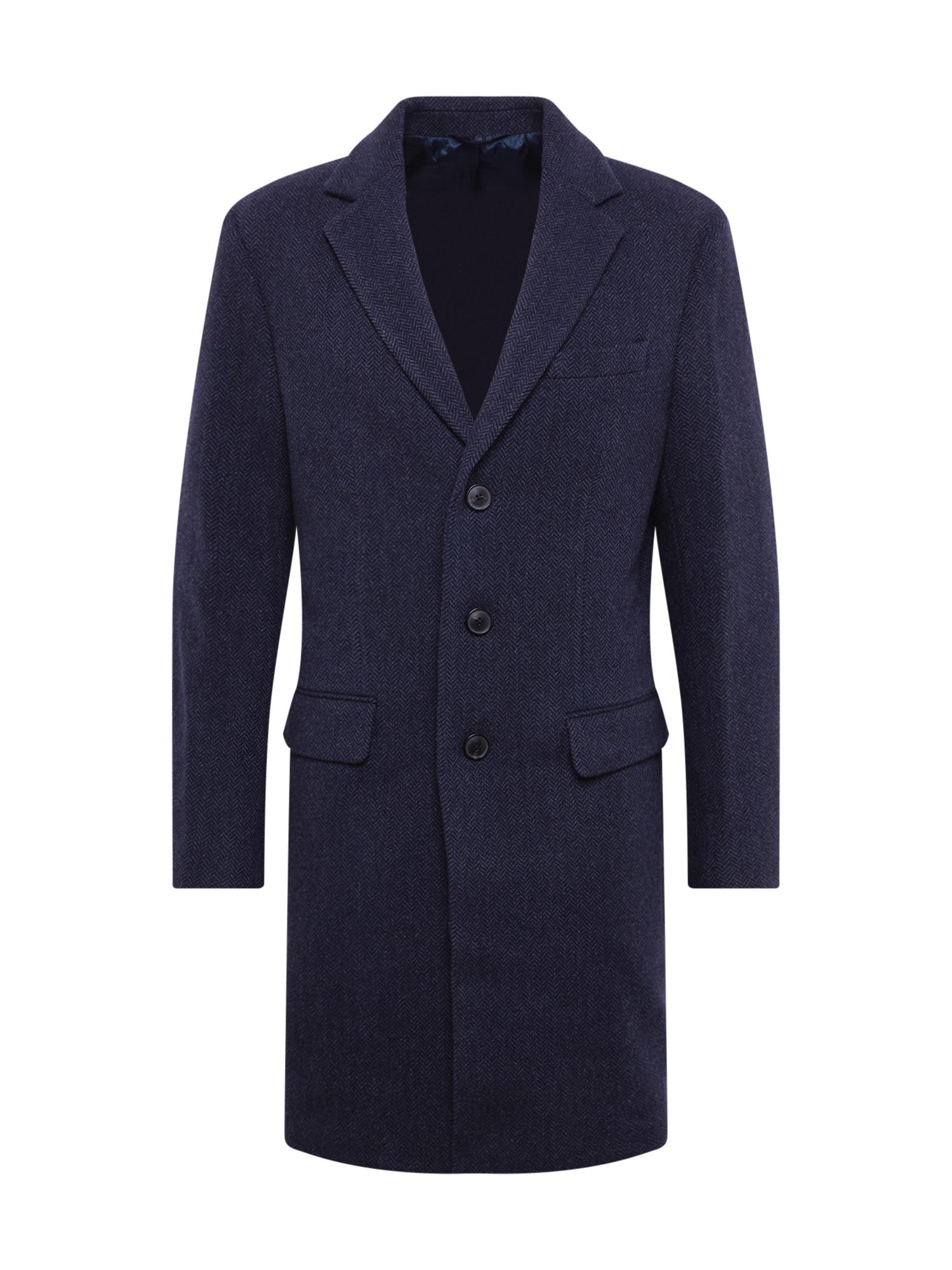 Banana Republic Rudeninis-žieminis paltas 'WOOL BLEND TOPCOAT' tamsiai mėlyna