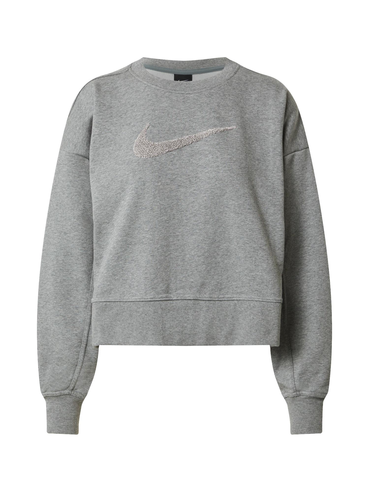 NIKE Sportinio tipo megztinis margai pilka