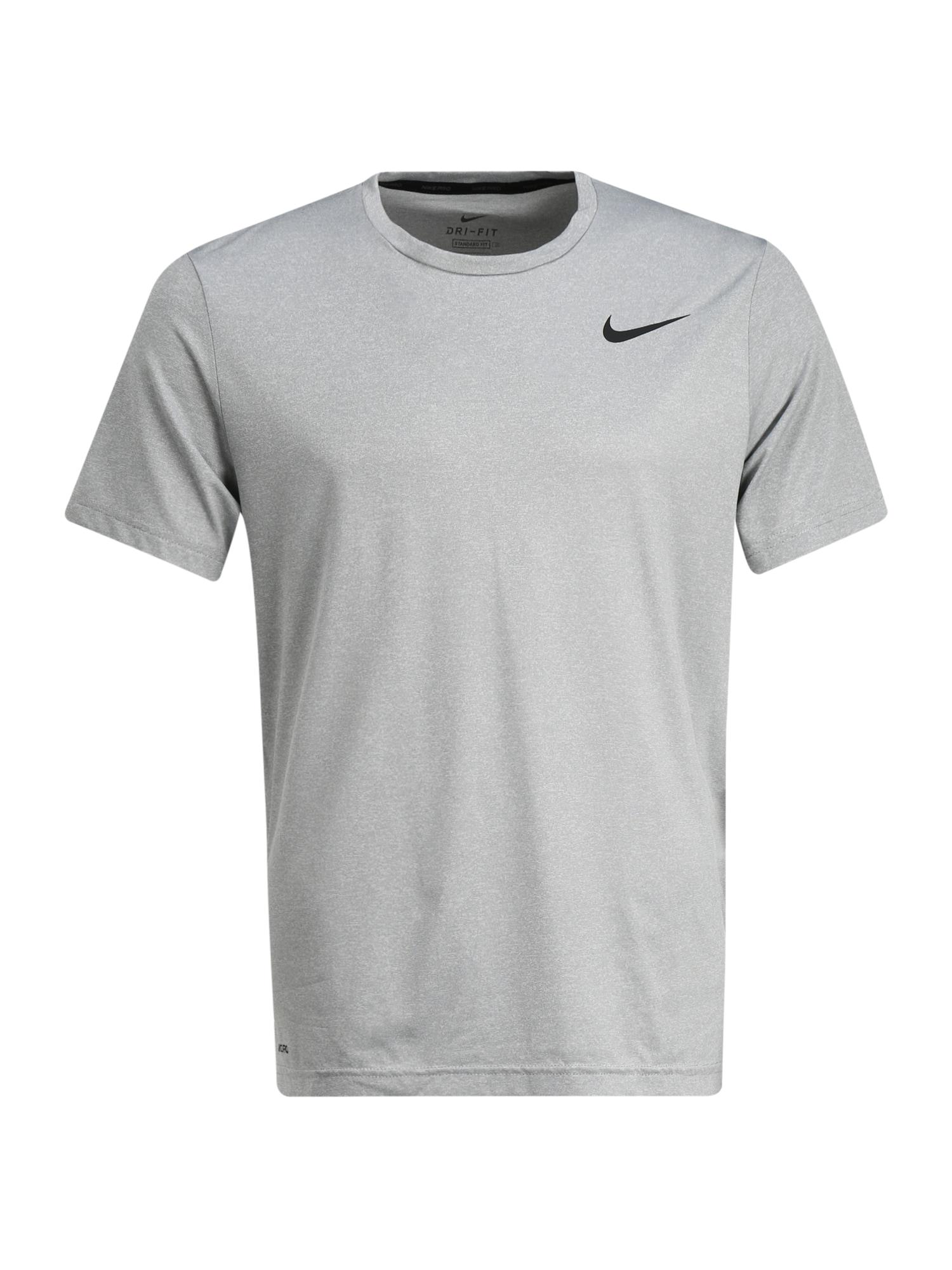 NIKE Sportiniai marškinėliai 'Nike Pro' šviesiai pilka