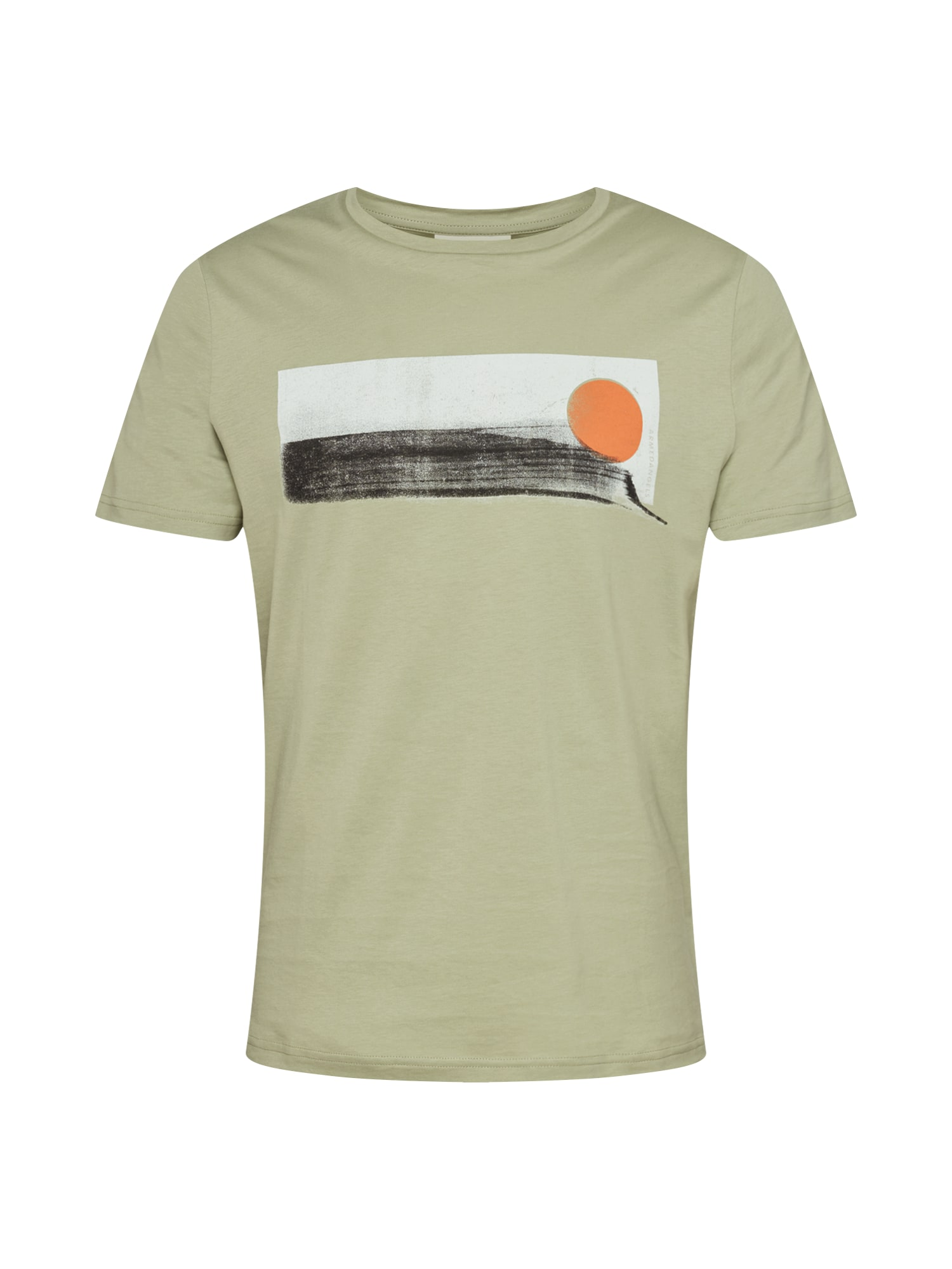 ARMEDANGELS Marškinėliai 'JAAMES BEACH' alyvuogių spalva