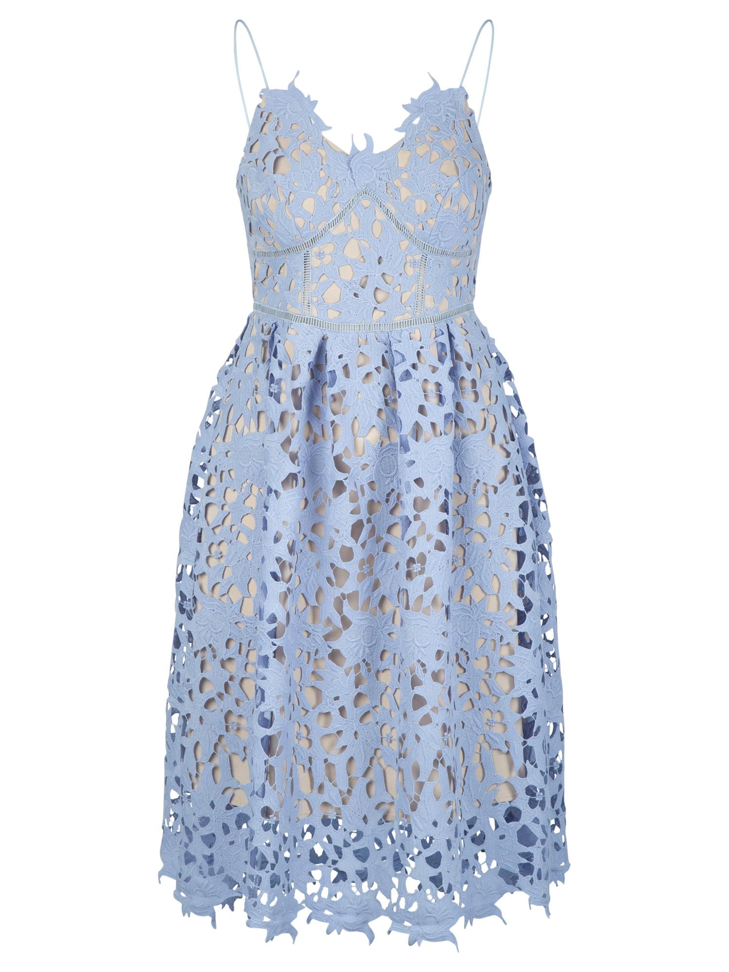 APART Kokteilinė suknelė šviesiai mėlyna