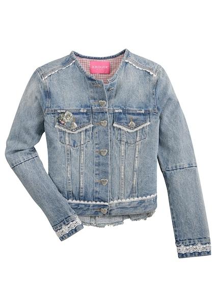 Jacken - Trachtenjeansjacke › Krüger Madl › blue denim  - Onlineshop ABOUT YOU