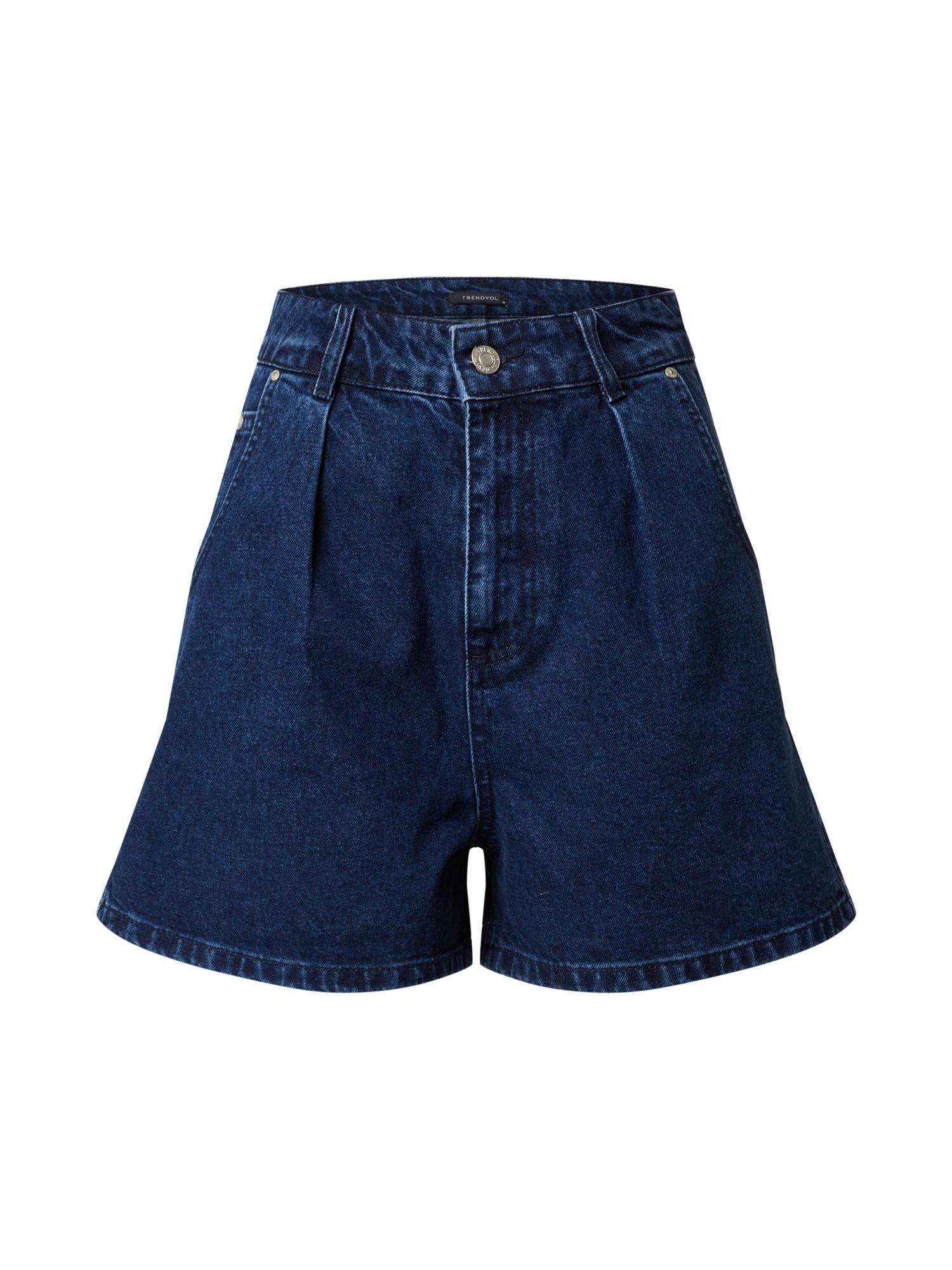 Trendyol Džinsai mėlyna / tamsiai (džinso) mėlyna