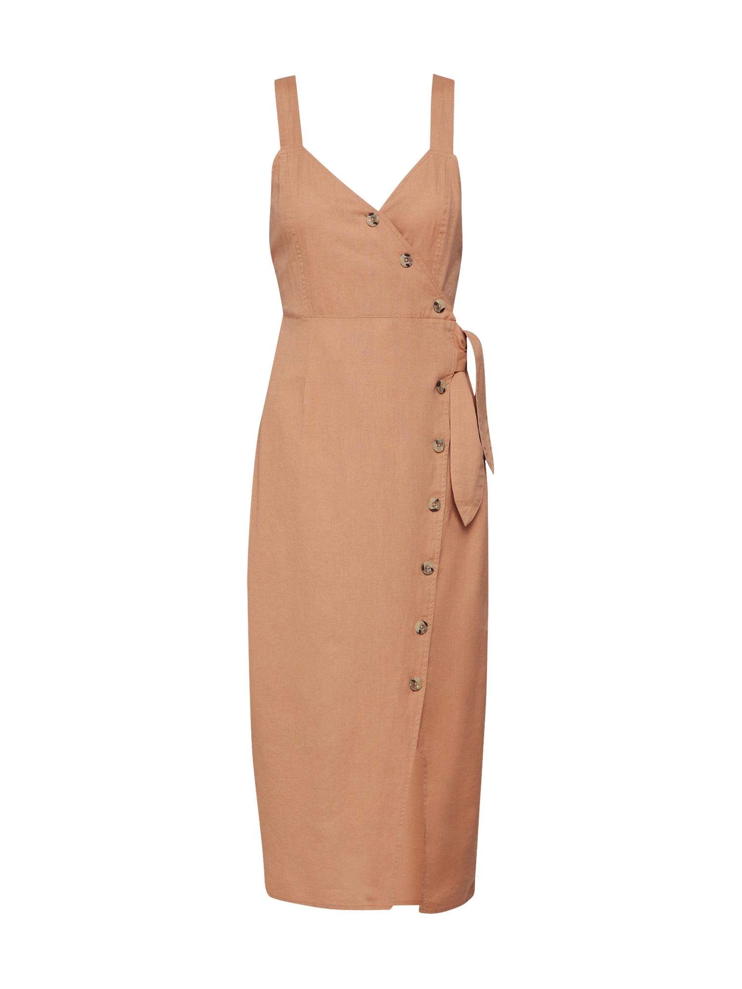 EDITED Vasarinė suknelė 'Quinn' ruda
