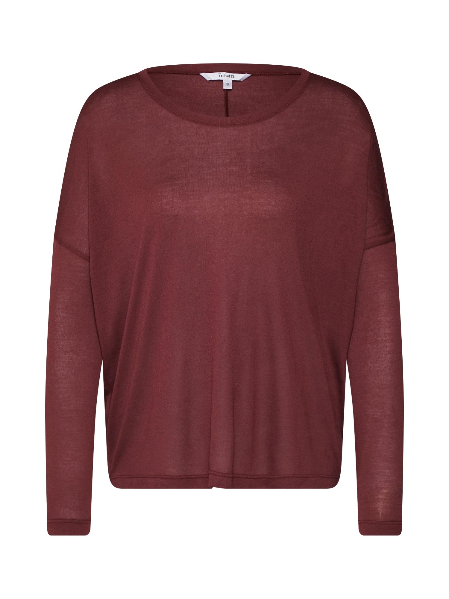 mbym Oversize tričko  červené