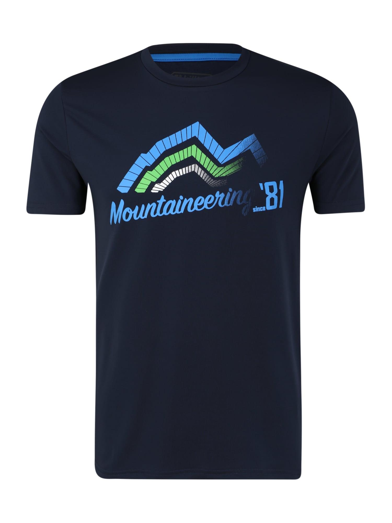 KILLTEC Sportiniai marškinėliai tamsiai mėlyna