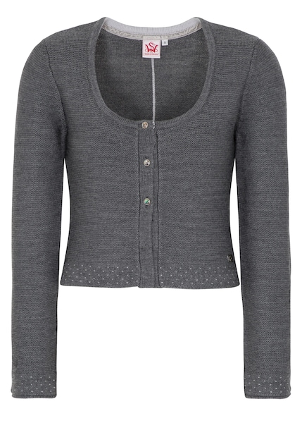 Jacken - Strickjacke 'Klara' › SPIETH WENSKY › dunkelgrau  - Onlineshop ABOUT YOU