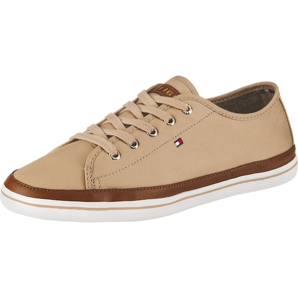 Sneakers für Frauen - Sneakers Low › Tommy Hilfiger › beige braun  - Onlineshop ABOUT YOU