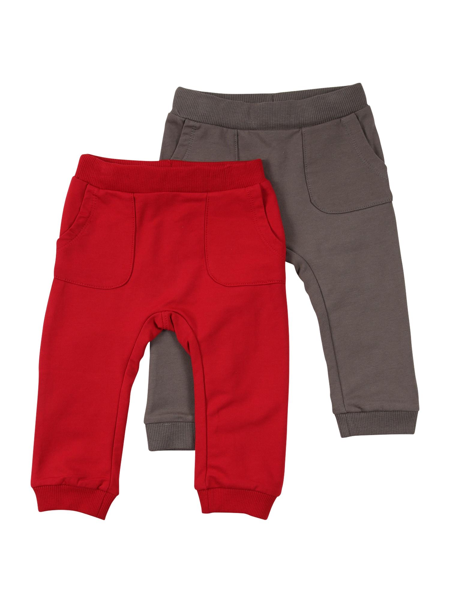 NAME IT Nohavice 'KAU'  červená / hnedá