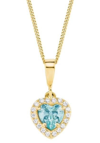 Ketten für Frauen - Kette › AMOR › hellblau gold  - Onlineshop ABOUT YOU