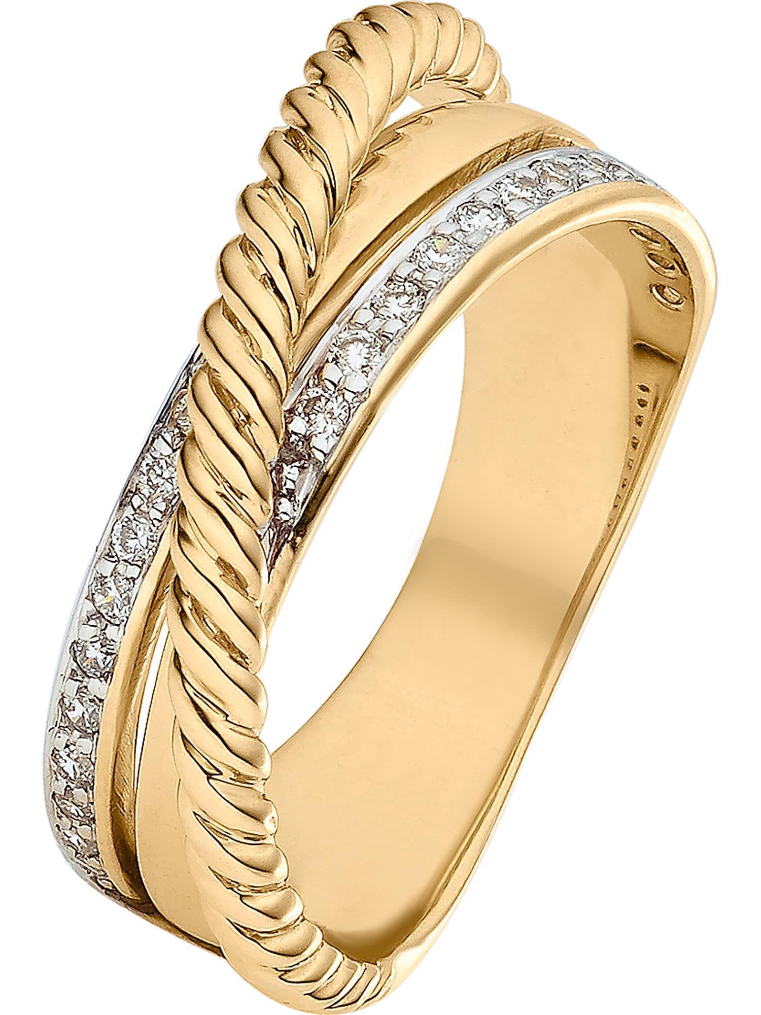 Damen Christ Ring blau, blau,  gelb,  weiß, blau,  grau,  rot, gold | 04006175725133
