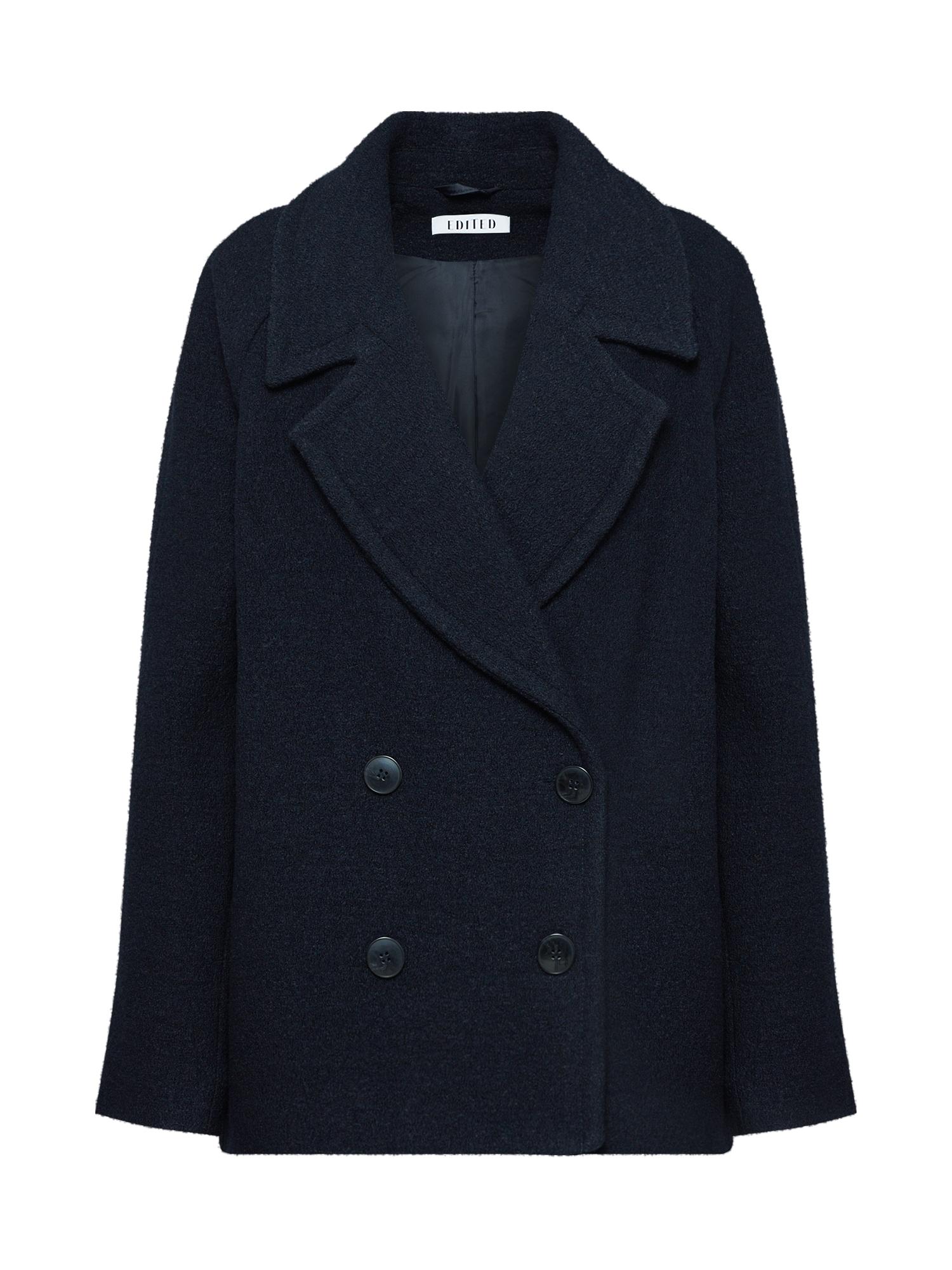 EDITED Rudeninis-žieminis paltas 'Leytun' mėlyna / tamsiai mėlyna