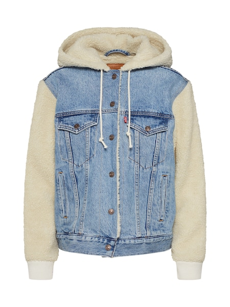 Jacken - Jacke 'EX BF SHERPA' › Levi's › blue denim  - Onlineshop ABOUT YOU