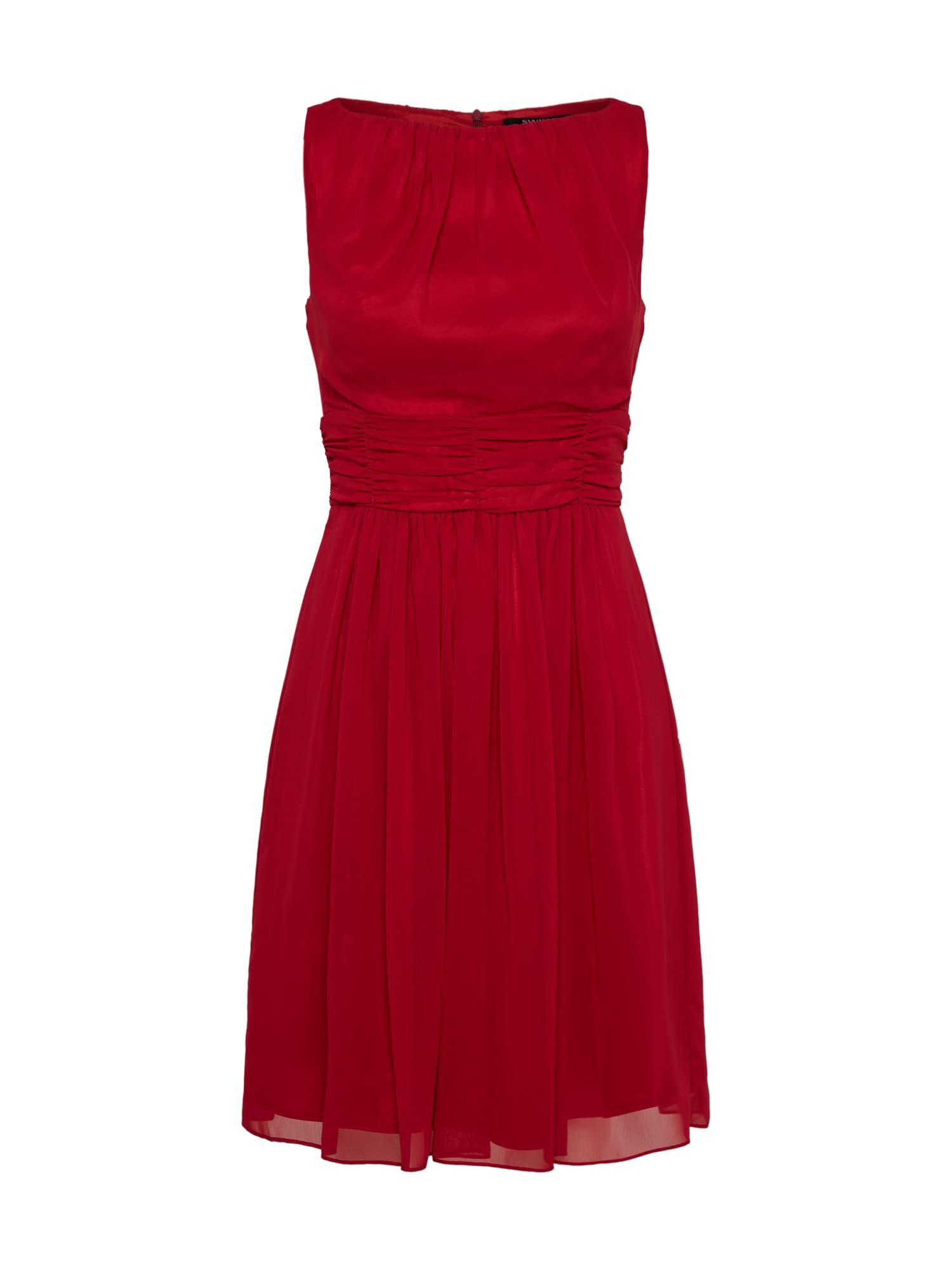 SWING Kokteilinė suknelė raudona