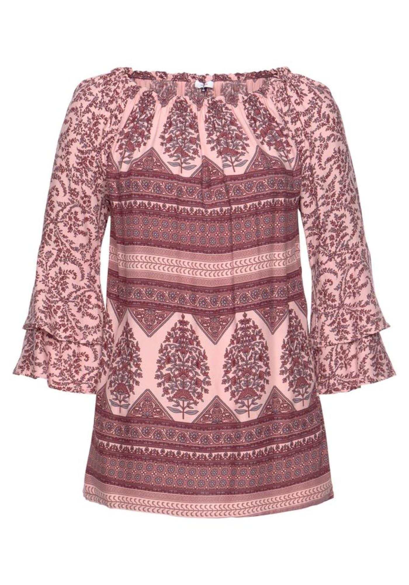 LASCANA Palaidinė mišrios spalvos / ryškiai rožinė spalva
