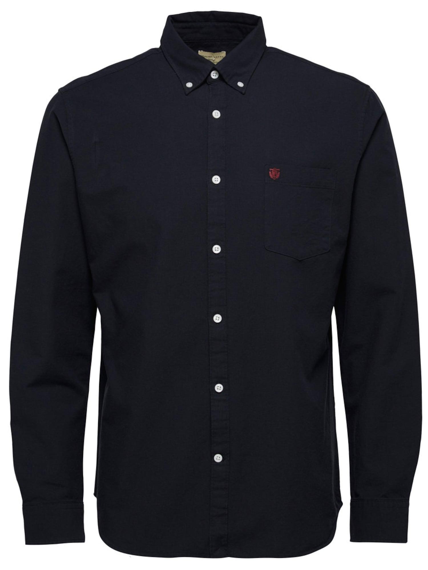 SELECTED HOMME Košeľa  čierna