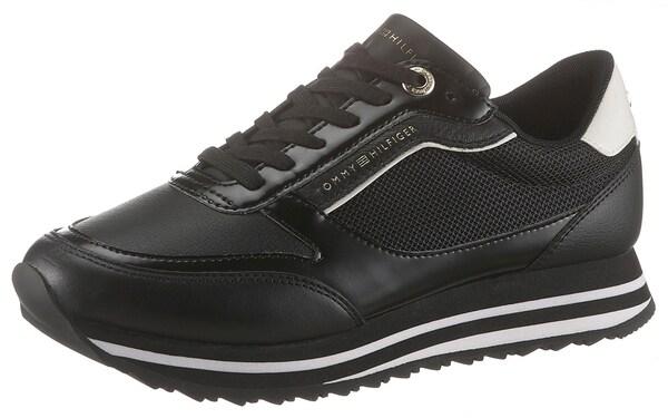 Sneakers für Frauen - Plateausneaker › Tommy Hilfiger › schwarz  - Onlineshop ABOUT YOU