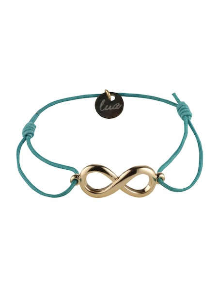 Armbaender für Frauen - Lua Accessories Armband 'Endless' türkis gold  - Onlineshop ABOUT YOU
