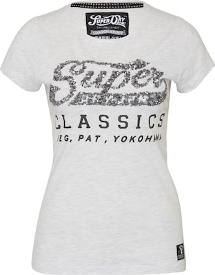Superdry T-Shirt 'Classics Sequin'