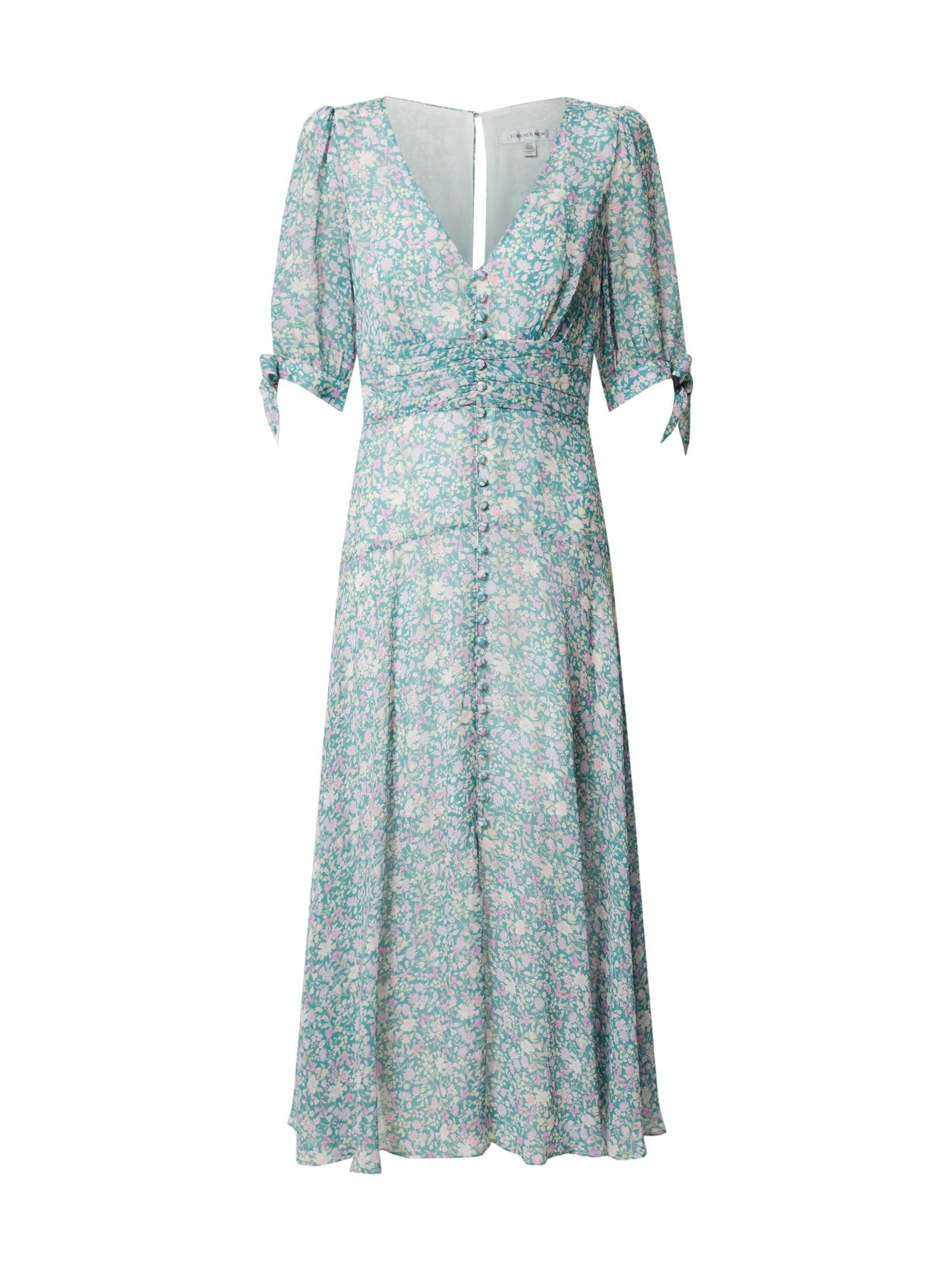 Forever New Suknelė 'Sadie Tie Detail Maxi Dress' mėtų spalva