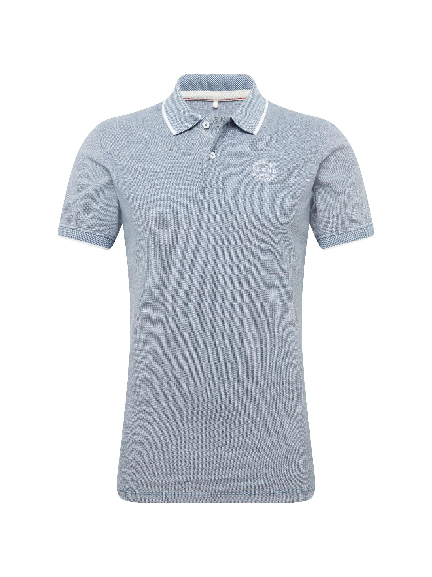 BLEND Marškinėliai 'TEE' tamsiai mėlyna