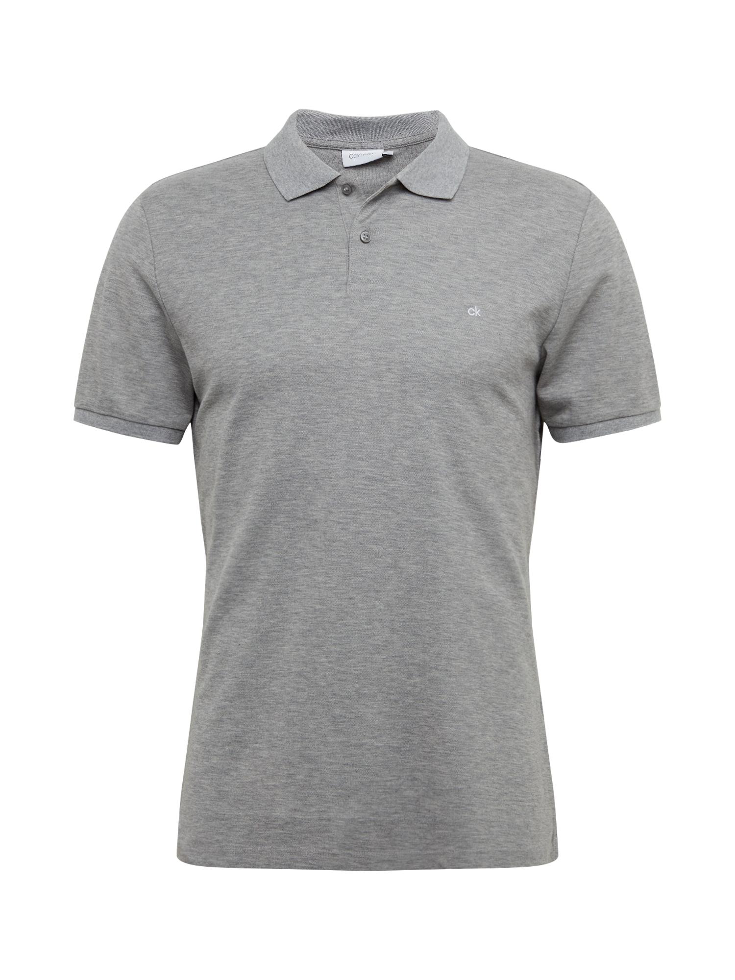 Calvin Klein Marškinėliai margai pilka