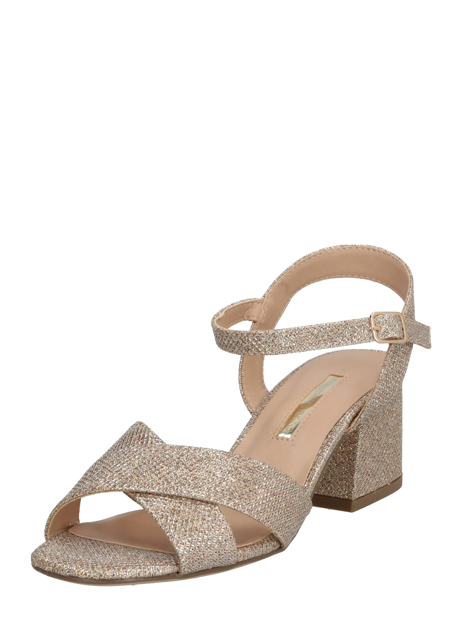 Dorothy Perkins Remienkové sandále 'BOOM'  zlatá