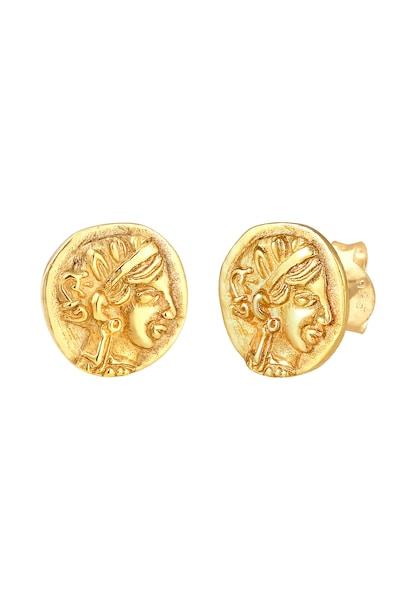 Ohrringe - Ohrringe Vintage, Münze › ELLI › gold  - Onlineshop ABOUT YOU