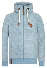 Naketano Herren Zipped Jacket Der Gedudelte V blau   04049502594194