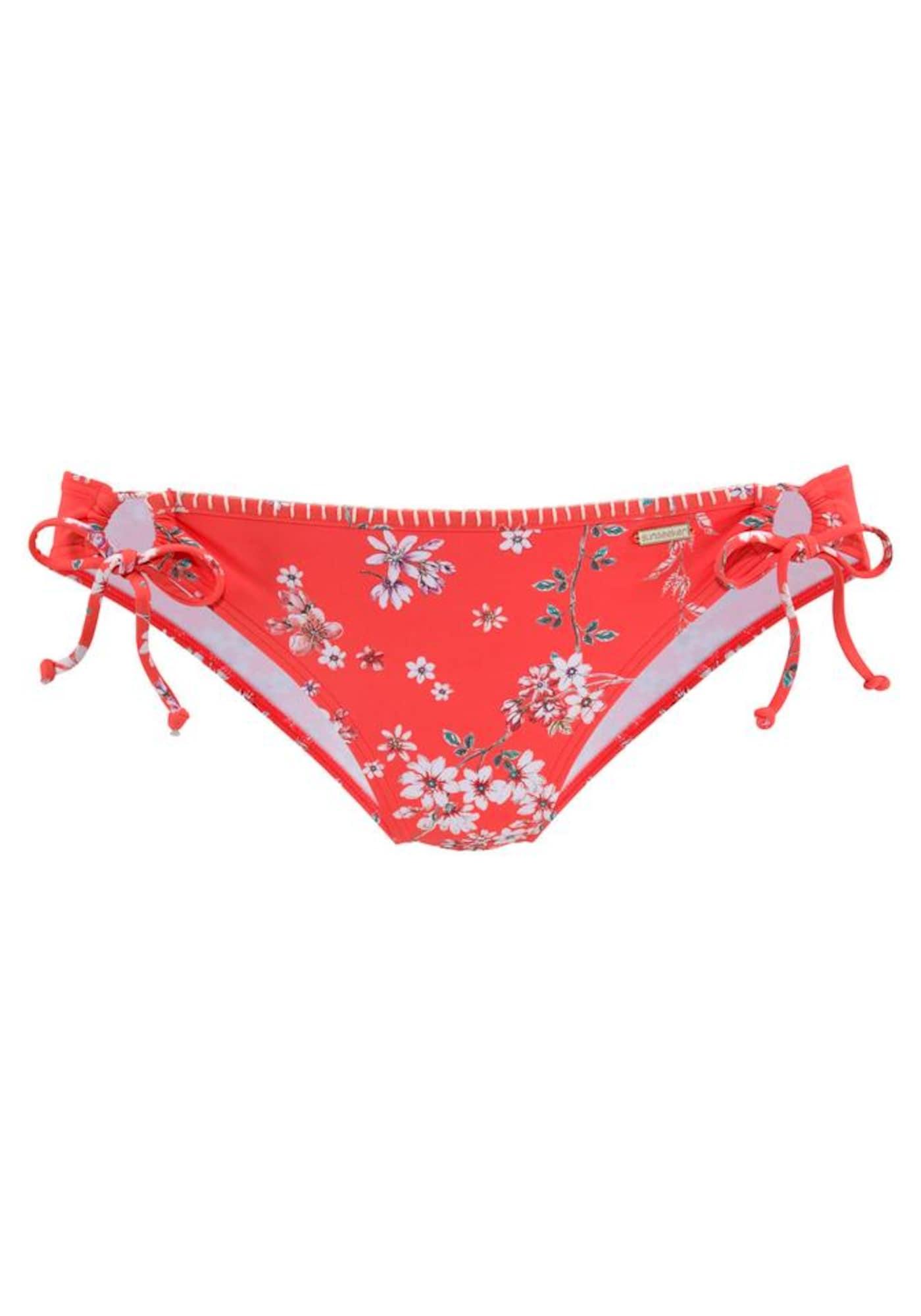 SUNSEEKER Bikinové nohavičky 'Ditsy'  zmiešané farby / oranžovo červená