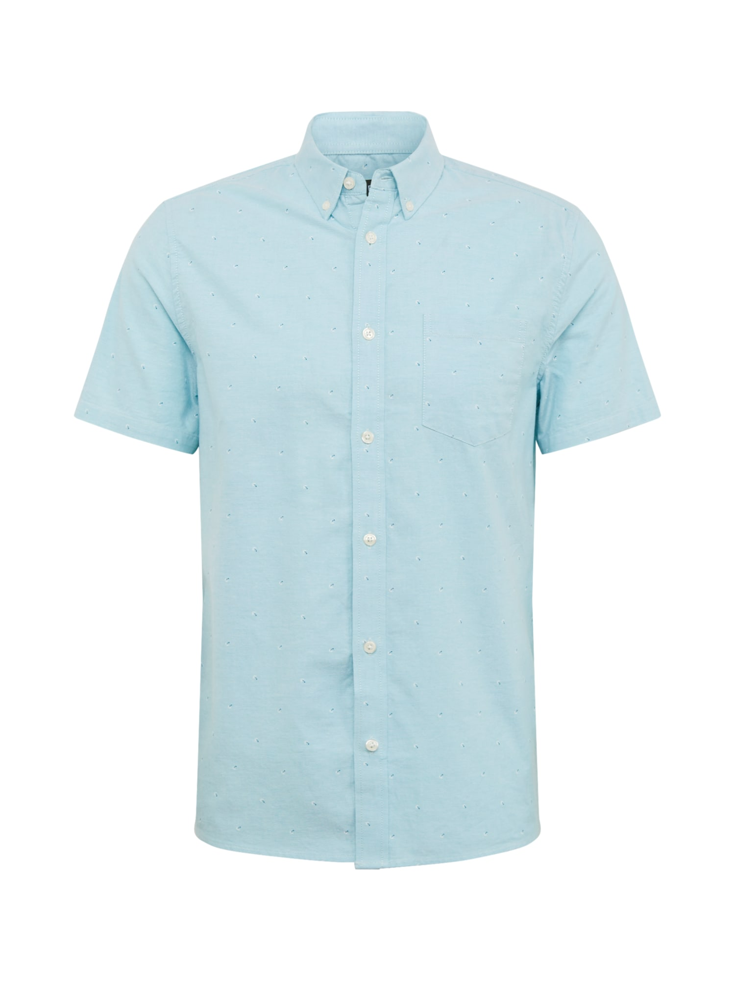 BURTON MENSWEAR LONDON Košeľa 'Palm Oxford'  modré