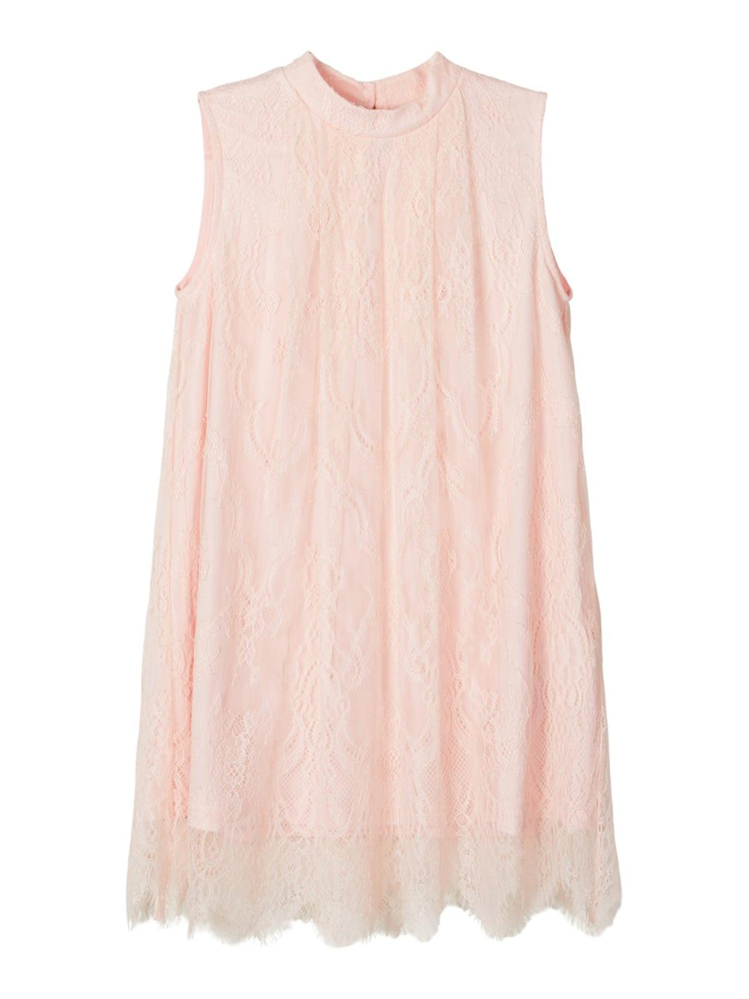NAME IT Suknelė pastelinė rožinė