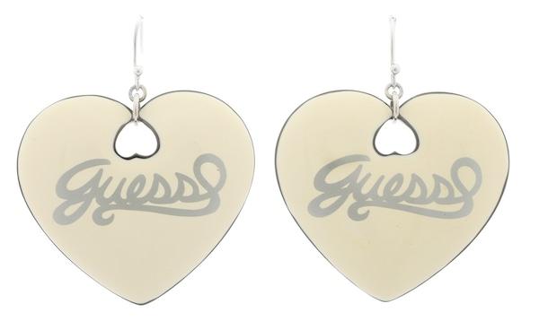 Ohrringe für Frauen - GUESS Ohrhänger 'UBE21001' hellgelb  - Onlineshop ABOUT YOU