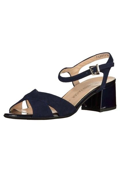Sandalen für Frauen - PETER KAISER Sandalen dunkelblau  - Onlineshop ABOUT YOU