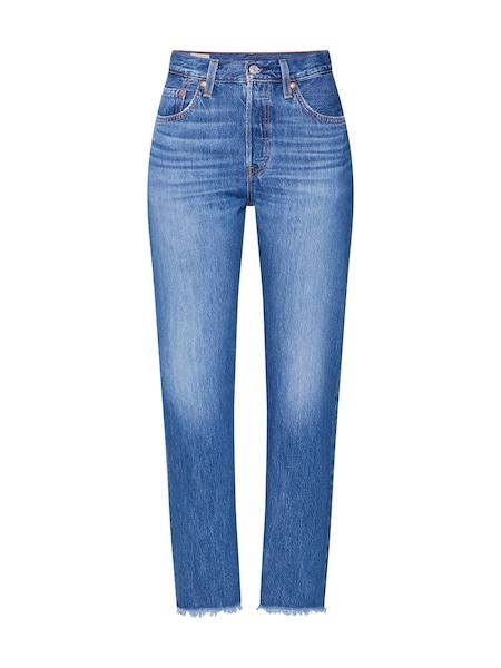 Hosen - Jeans '501 CROP' › Levi's › blue denim  - Onlineshop ABOUT YOU